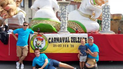 carnavalstoet op zaterdag 22 februari 2020 -