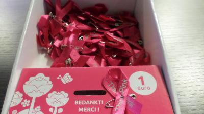 steun de Think Pink campagne -