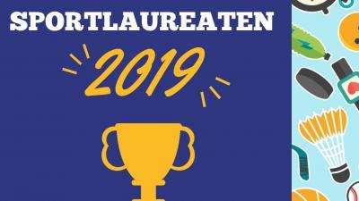 oproep sportlaureaten 2019 -
