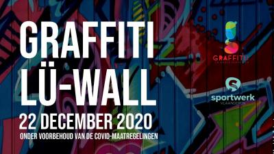 Workshop graffiti en interactieve Lü-wall -