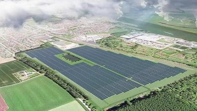 Bouw Shell Zonnepark in Sas Van Gent binnenkort van start -