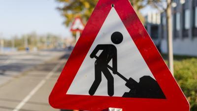 Brug Sas van Gent onderbroken door werken -