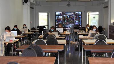 Stille studieplek in 't Klooster -