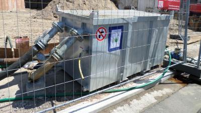 Hergebruik opgepompt grondwater -