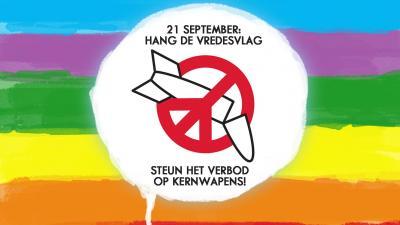 Vandaag is Internationale dag voor de vrede -